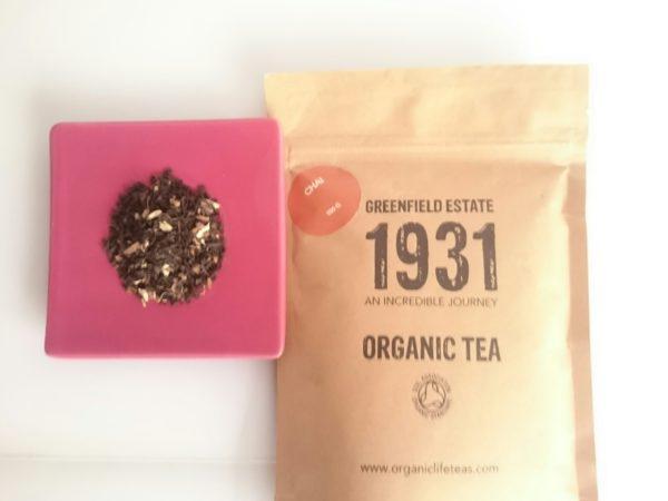 thé noir chai bio