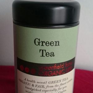 Thé vert classique boîte métal