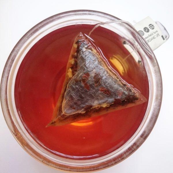 thé noir au gingembre