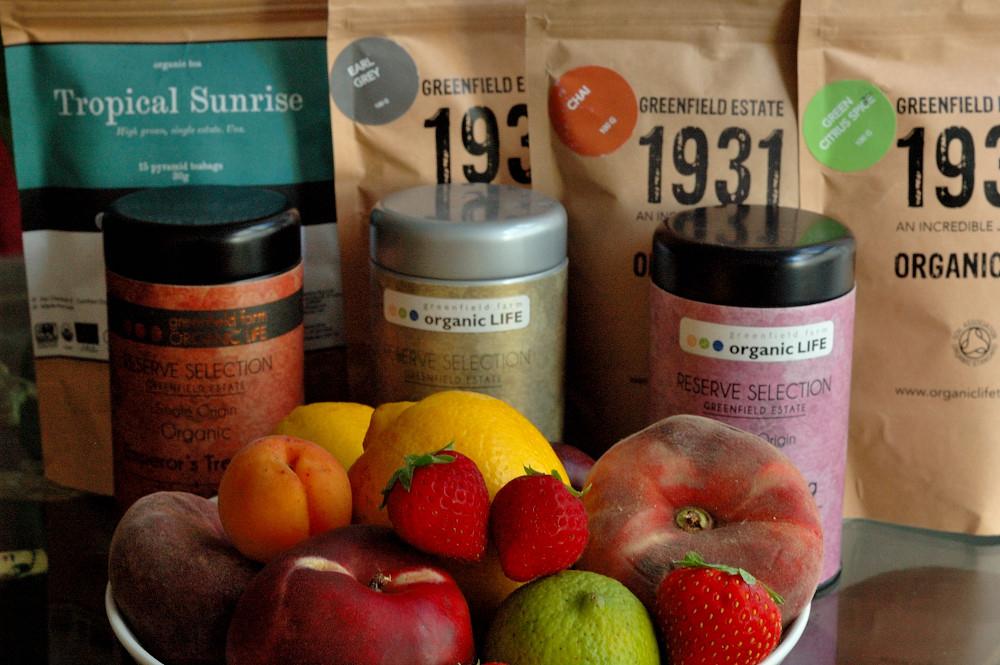 thés infusions ceylan bio fruits